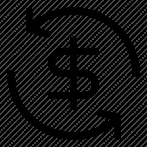 cashback, guarantee, money, refund, return icon