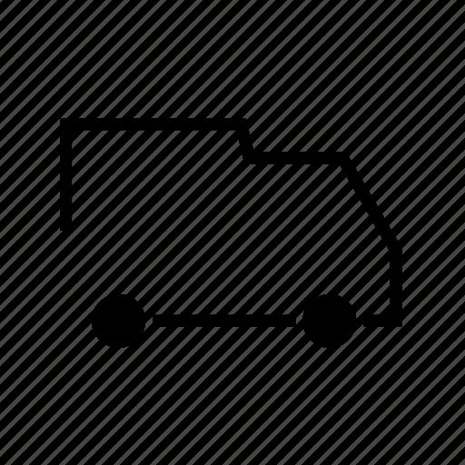 car, delivery, shipping, van icon