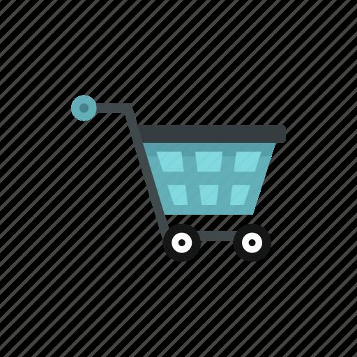 cart, commercial, concept, market, retail, sale, shopping icon