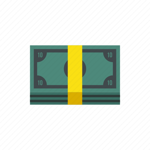 cash, flock, modern, money, package, pile, stack icon