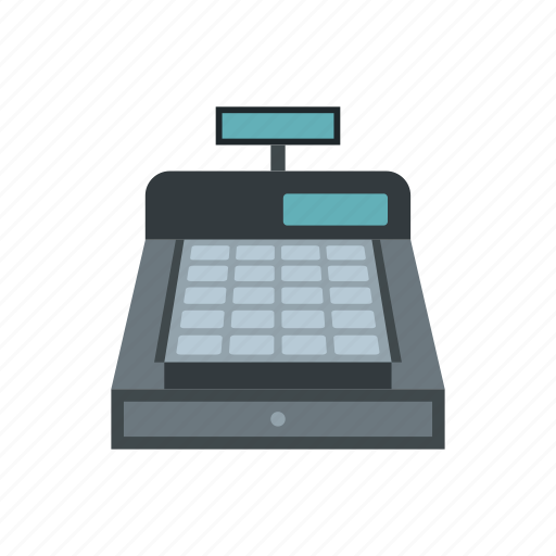 business, buying, cash, counter, register, retail, shopping icon