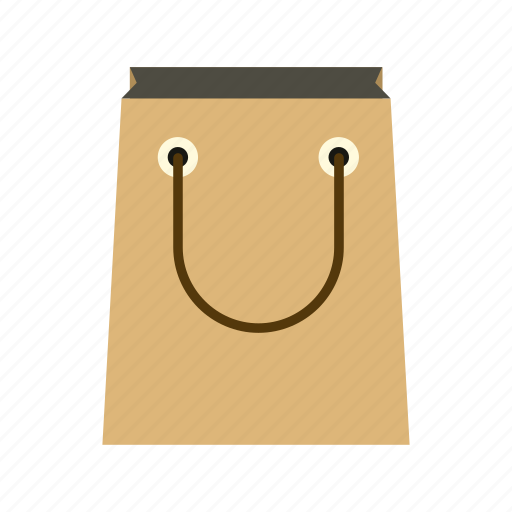 bag, blank, empty, package, paper, sale, shopping icon