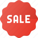 label, sale, shop, sticker icon