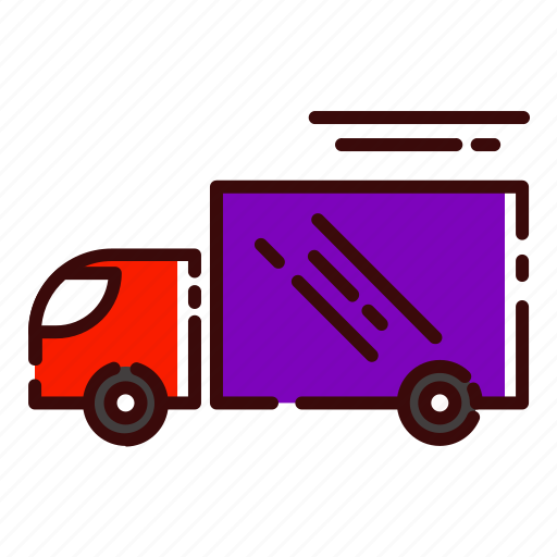 buy, car, delivery, fast, shopping, transportation, truck icon