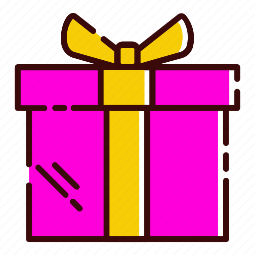 birtday, box, dorprize, gift icon