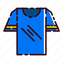 blue, buy, clothing, shirt, shopping, t, tee icon