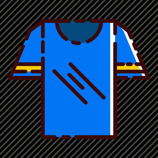 blue, buy, clothing, shirt, shopping, t, tee icon