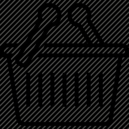 basket, box, cart, shopping icon