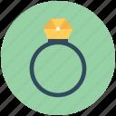 gem ring, ring, wedding ring, diamond ring, jewel ring icon