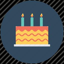 anniversary cake, bakery food, birthday cake, cake, celebration icon