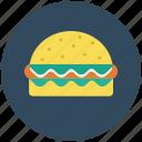 food, burger, junk food, hamburger, fast food icon