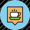 coffee, coffee cup, cup, drink, hot coffee, hot tea, tea icon