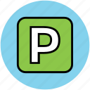 car parking, parking, parking sign, traffic sign, traffic symbol icon