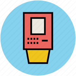 bill, bill machine, cash register, cashier, payment, ticket machine icon