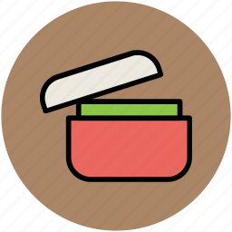 box, cooking, home, kitchen, lid, pot, pot and lid icon