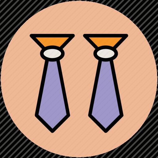 clothes, dress, fastening ties, formal tie, tie, uniform tie, windsor tie knot icon