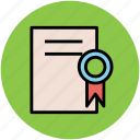 achievement, badge award, certificate, degree, diploma, top rated icon