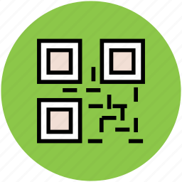 barcode matrix, qr code, qr label, quick response code, scanning code icon