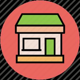 building, market, market stand, shop, store, supermarket icon