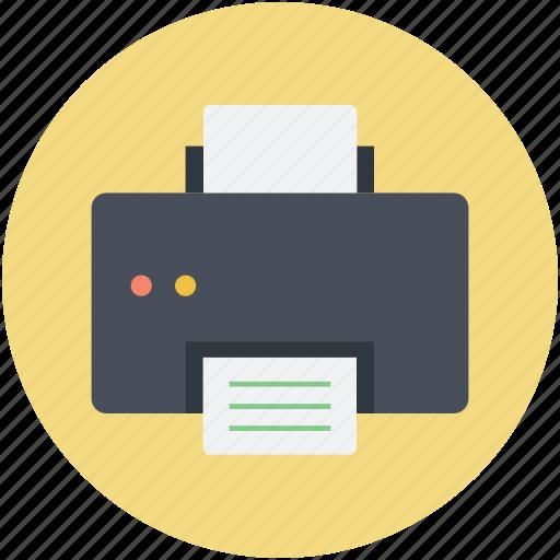 Fax, facsimile machine, facsimile, fax machine, printer icon
