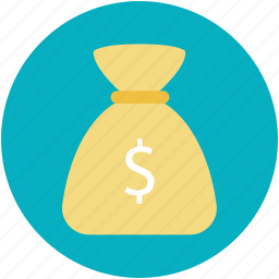 dollar pouch, dollar sack, money, pouch, wealth icon