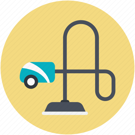 Household appliance, hoover, cleaning, vacuum cleaner icon