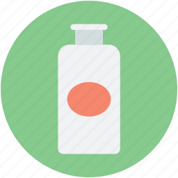 cosmetics, hair tonic, lotion, lotion bottle, oil bottle icon
