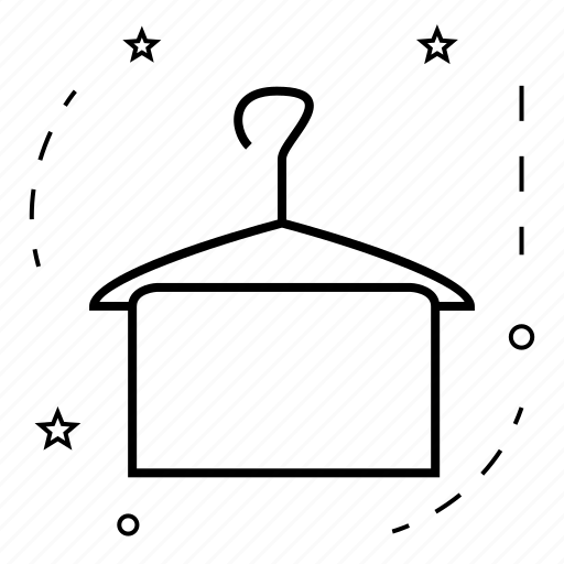 hanger, market, shop, shopping, store, towel icon