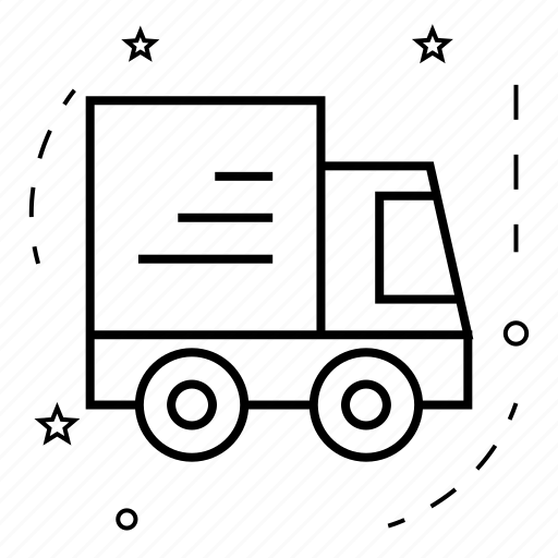delivery, market, shop, shopping, store, truck icon