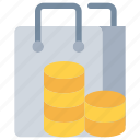 bag, commerce, payment, shop, shopping icon