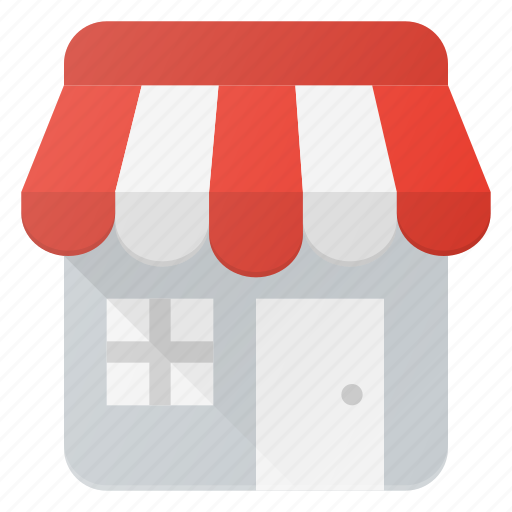 building, local, shop, store icon