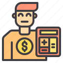 cashier, commerce, sale, shopping, store icon