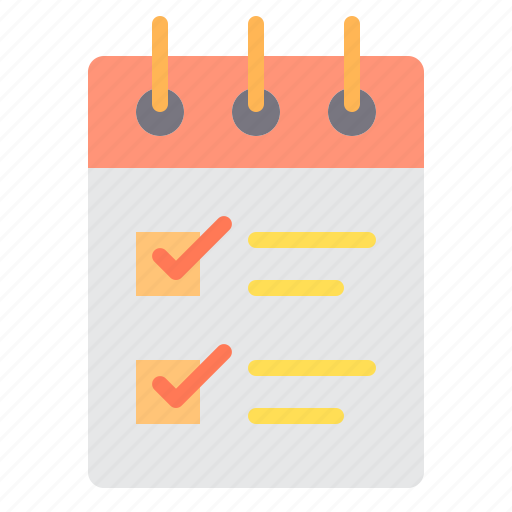 check, commerce, list, sale, shopping, store icon