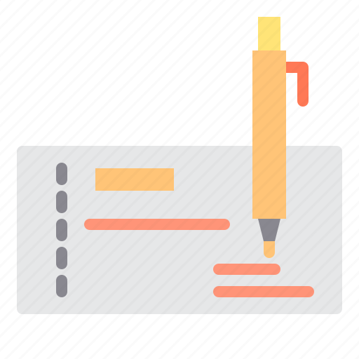 cheque, commerce, sale, shopping, store icon