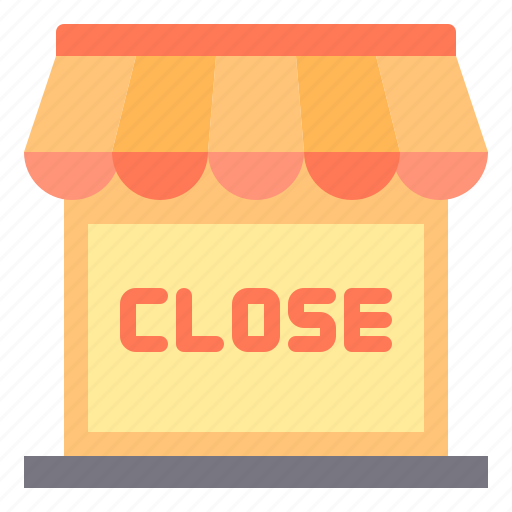 close, commerce, sale, shopping, store icon