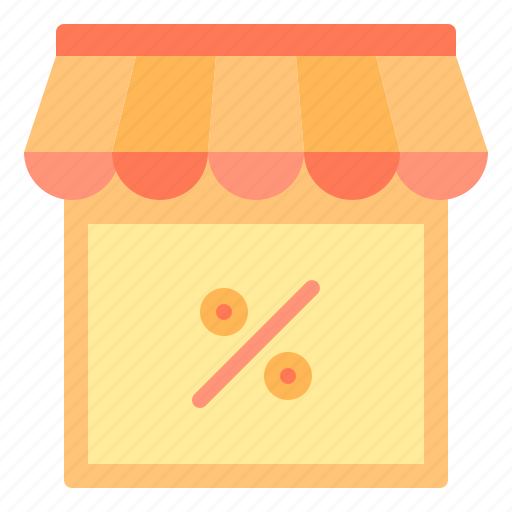 commerce, discount, sale, shopping, store icon