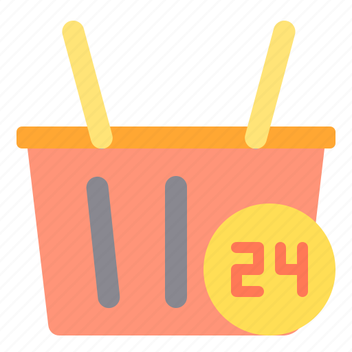 commerce, hour, sale, shopping, store icon
