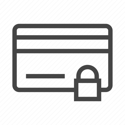 card, ecommerce, finance, locked, online, payment, shopping icon