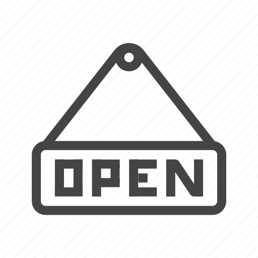 business, buy, ecommerce, online, open, shop, shopping icon