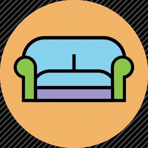 couch, furniture sofa, lobbies sofa, seat sofa, settee, single sofa, sofa icon