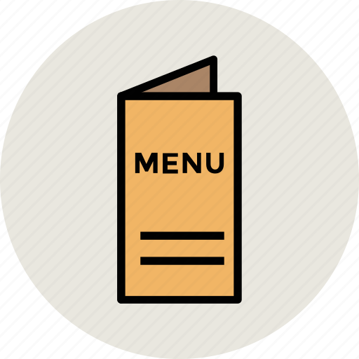 booklet, catalog, menu, menu book, restaurant menu icon