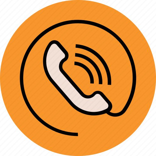 call, call service, calling, helpline, phone, receiver, receiver wire icon