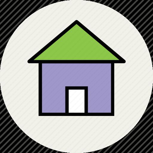 building, cottage, home, house, hut, villa icon