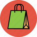 grocery bag, hand bag, shopper, shopping, shopping bag, tote bag icon