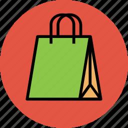 grocery bag, hand bag, shopper, shopping, shopping bag, tote bag icon