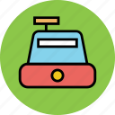 bill machine, billing machine, cash register, cashier, payment, ticket machine icon