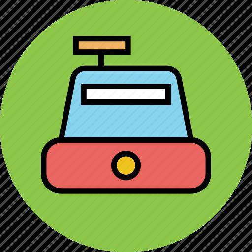 bill machine, billing machine, cash register, cashier, payment, ticket machine icon