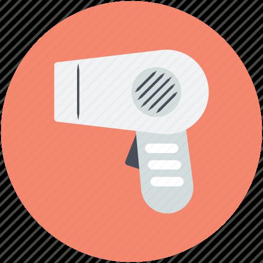 blow dryer, hair dressing, hair dryer, hair salon, salon electricals icon