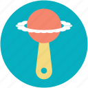 baby rattle, baby toy, fun, kids fun, kids toy icon