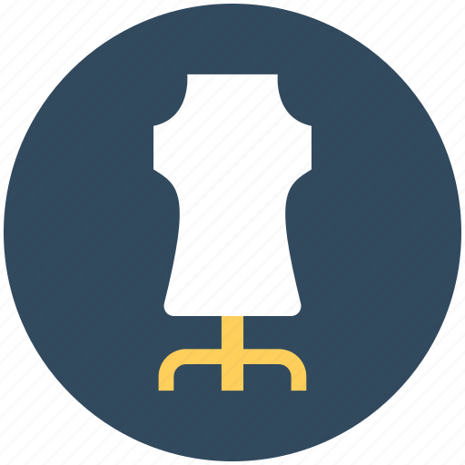 dress form, dummy, lay figure, manikin, mannequin icon